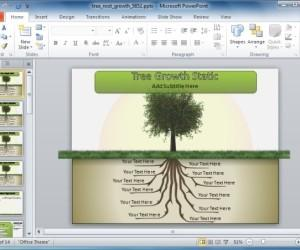 Animated Tree Template For PowerPoint