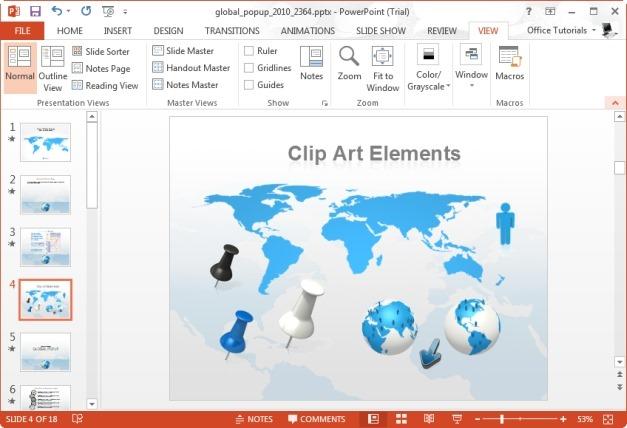 World Map Clipart