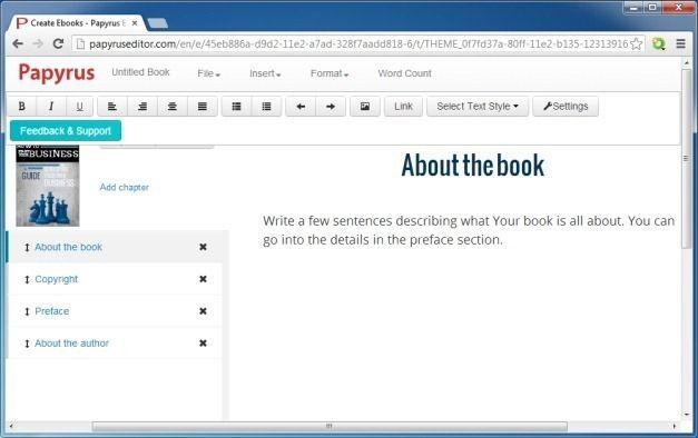 Write eBook