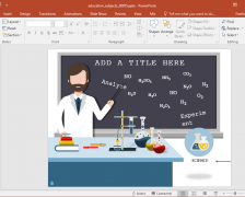 Educational Subjects PowerPoint Template