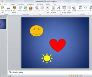 How to Align Shapes in PowerPoint 2010