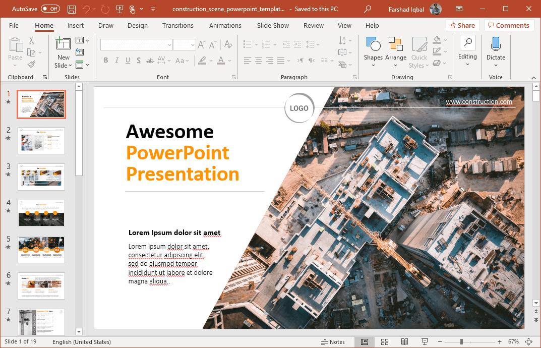 Sample of business team building ppt presentation backgrounds.