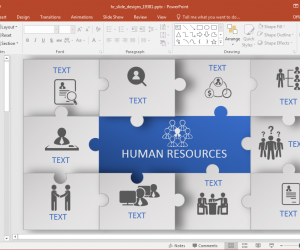 Animated Human Resources PowerPoint Template