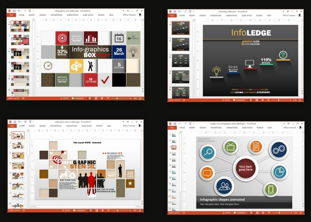 animated infographic templates for powerpoint