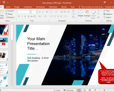 Animated Magazine PowerPoint Template