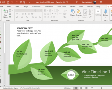 Animated Plant Growth Timeline for PowerPoint