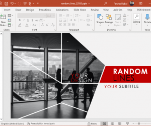 animated techy powerpoint template