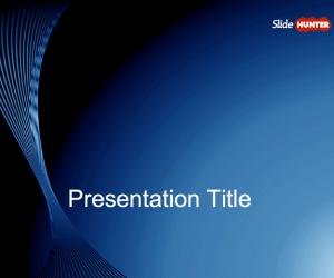 Blue Slide Design for PowerPoint