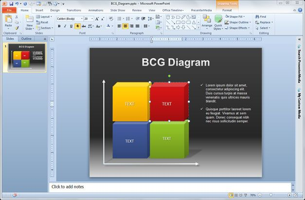 Free Consulting Model PowerPoint Template