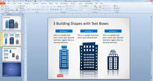 Creating a Custom Background for PowerPoint - Kalamazoo College
