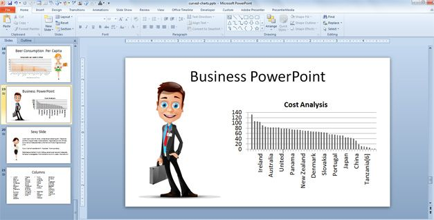 business characters powerpoint