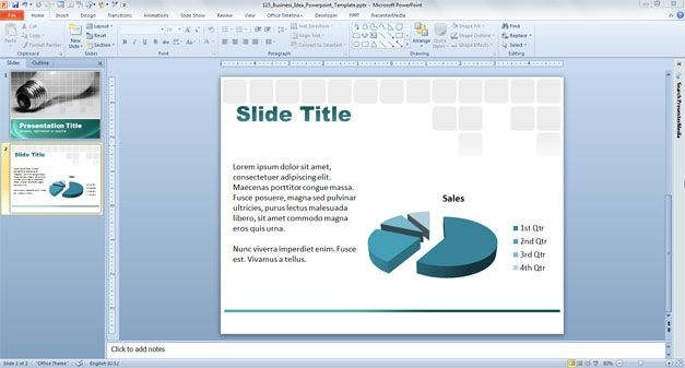 ppt template for business presentation