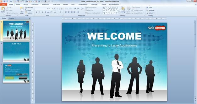 Leadership PowerPoint Template