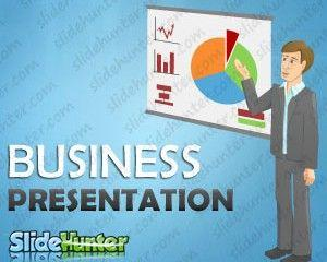Business Presentation Cartoon