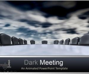 Animated Business Meeting Template For PowerPoint