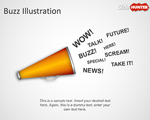 Buzz Marketing PowerPoint Template