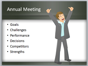 CEO Success Example in PowerPoint presentation slide