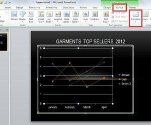 How to Use Chart Analysis Tools in PowerPoint 2010
