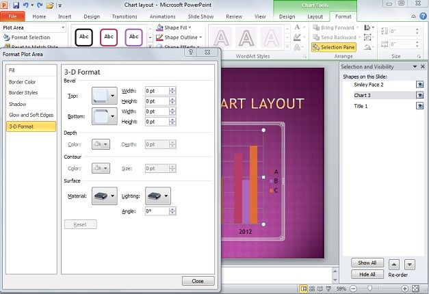 3d layout powerpoint