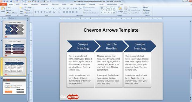 Free chevron powerpoint templates toneelgroepblik Images