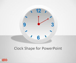 Clock Shape for PowerPoint