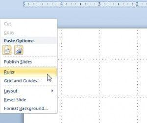 How to Show the Ruler in PowerPoint 2010