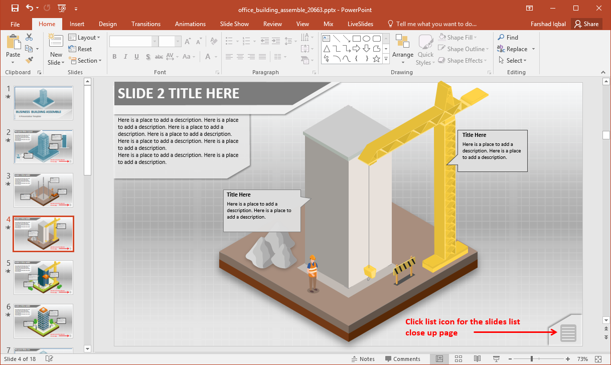 building construction powerpoint