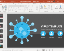 Animated Coronavirus Infographic PowerPoint Template