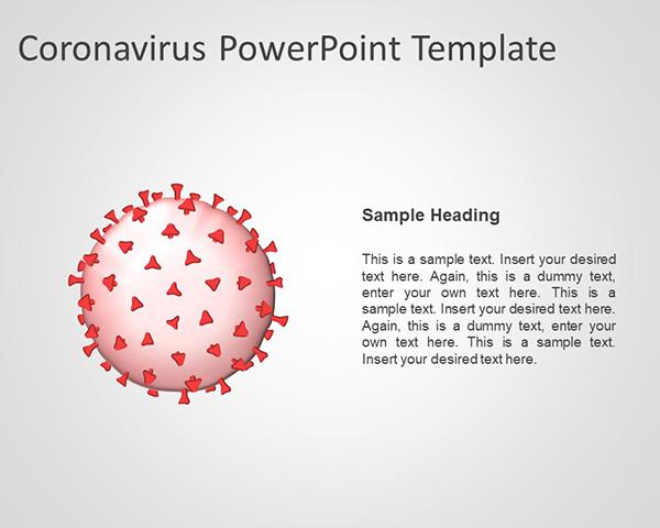 Free Coronavirus Powerpoint Template Free Powerpoint Templates Slidehunter Com