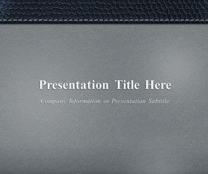 Corporate PowerPoint Template Gray