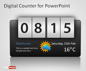 Counter PowerPoint Template