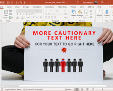 Proceed with Caution COVID 19 PowerPoint Template