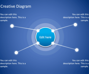Free Creative Diagram for PowerPoint