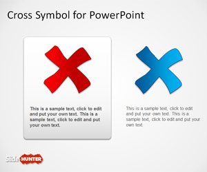 Cross Symbol for PowerPoint Presentations