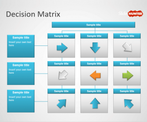 Decision Matrix PowerPoint template