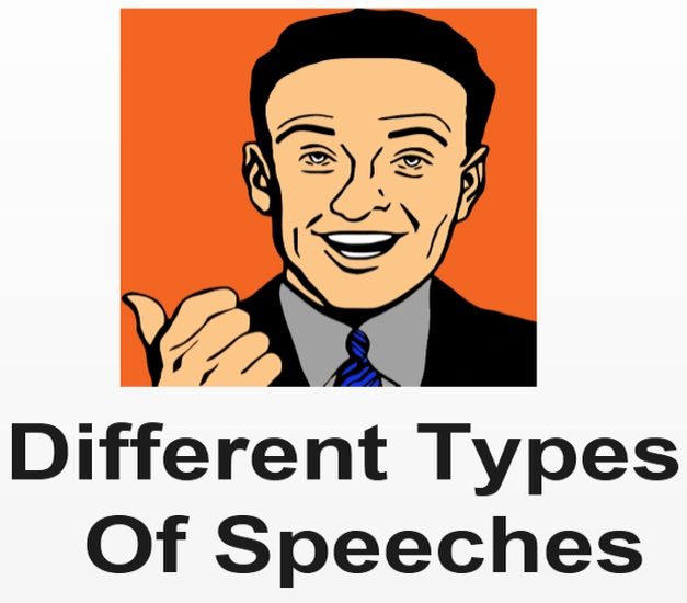 different types of speeches