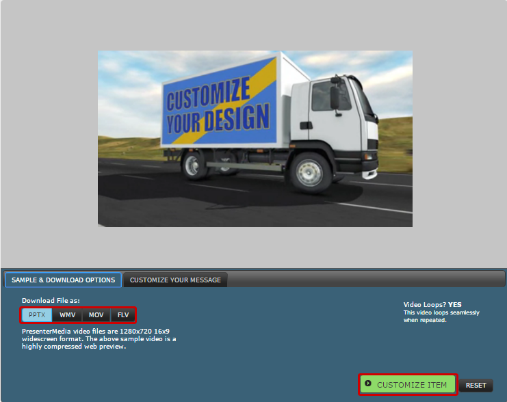 download-cargo-truck-animation