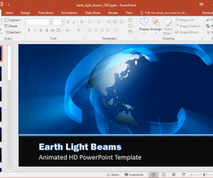 Animated Earth Day PowerPoint Templates