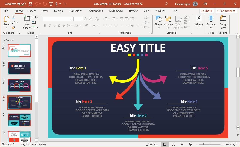 easy design diagram