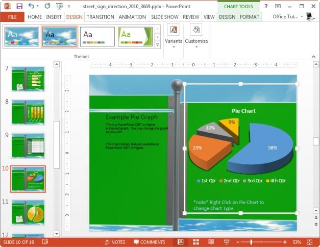 editable chart slide for microsoft powerpoint