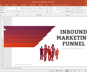 Animated Inbound Marketing Funnel PowerPoint Template