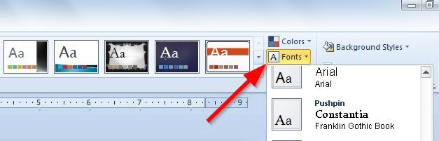 how to add new font to powerpoint