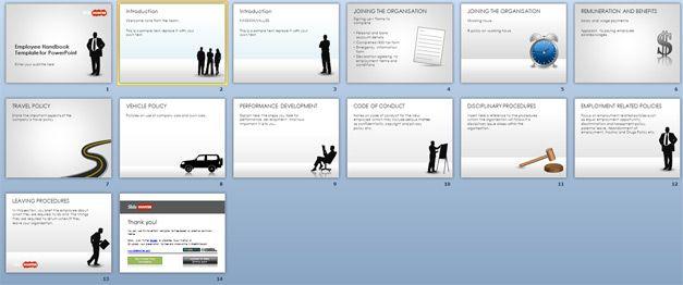 Free Employee Handbook Template