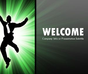 Green Attitude PowerPoint Template