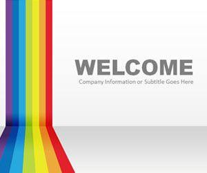 Rainbow PowerPoint Template