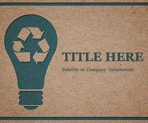 Recycle PowerPoint Template