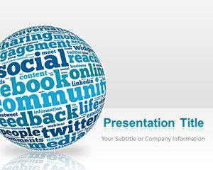 Social Media Powerpoint Template Free Download