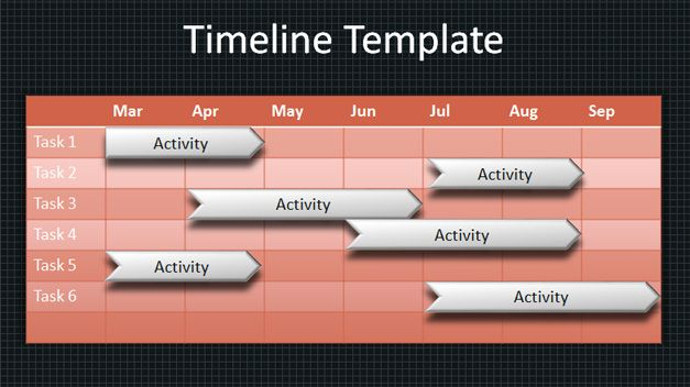 Free 3d timeline template party invitations ideas for Timeline template in powerpoint 2010