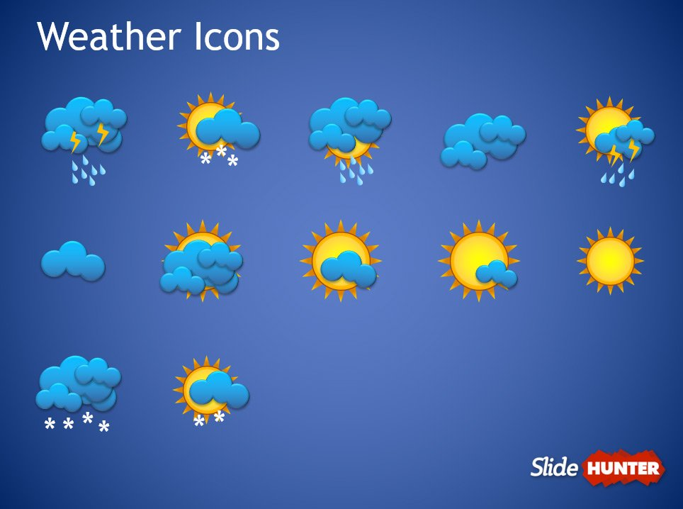 Weather forecast powerpoint template toneelgroepblik Image collections