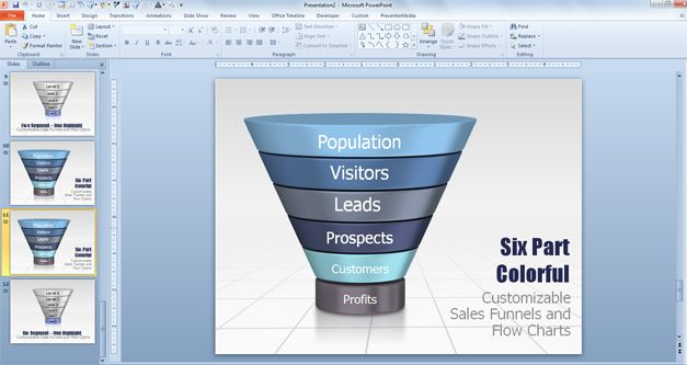 Funnel template fieldstation funnel diagram powerpoint template ccuart